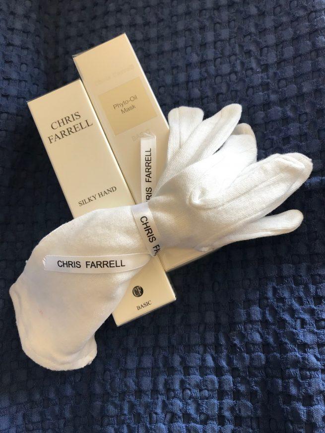 Katoenen handschoentjes handpakking phyto oil mask silky hand
