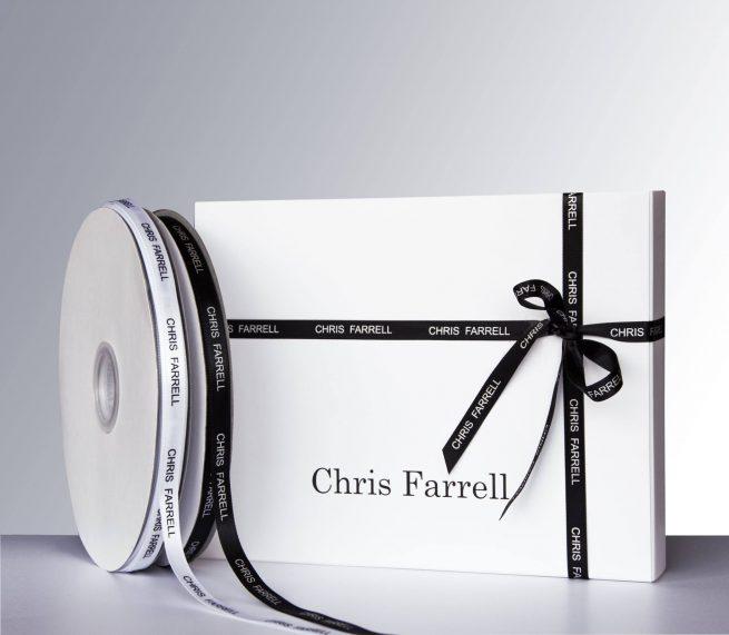 Cadeauverpakking-Cadeaulint Chris Farrell Kosmetiek