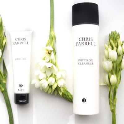 Phyto Oil Cleanser hydrofiele olie Onzuivere droge huid-fibra gel-Chris Farrell Basic Line natuurlijke gezichtsreiniger