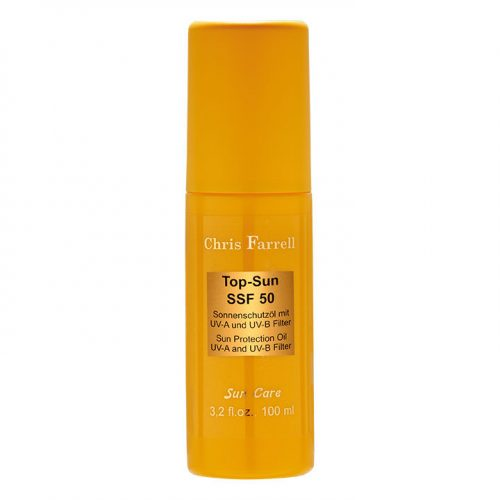 Top Sun SPF 50 zonnebrandolie zonbescherming