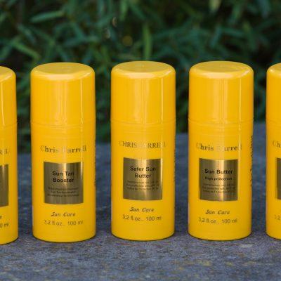 zonbescherming chris farrell huidverzorging Sun Tan booster