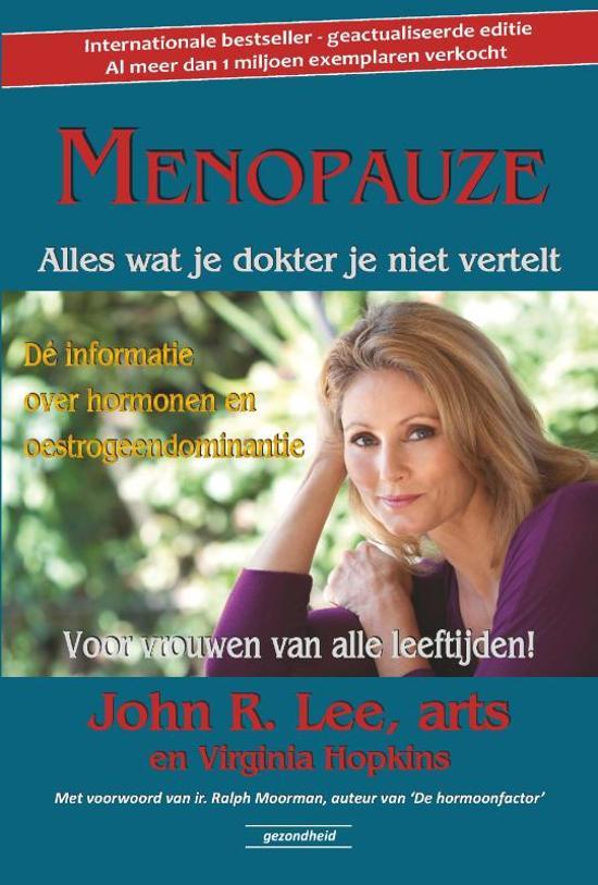 Menopauze het boek hormonale disbalans Dr. Lee