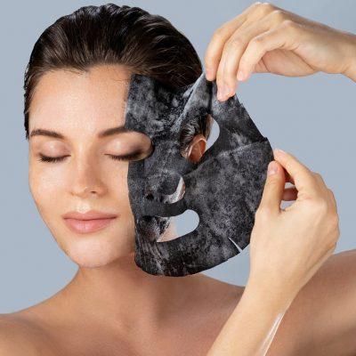 actieve kool carbon peel masks